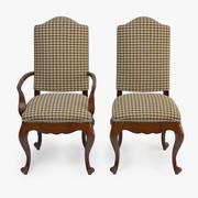 Fauteuil et fauteuil latéral Lawrence 3d model