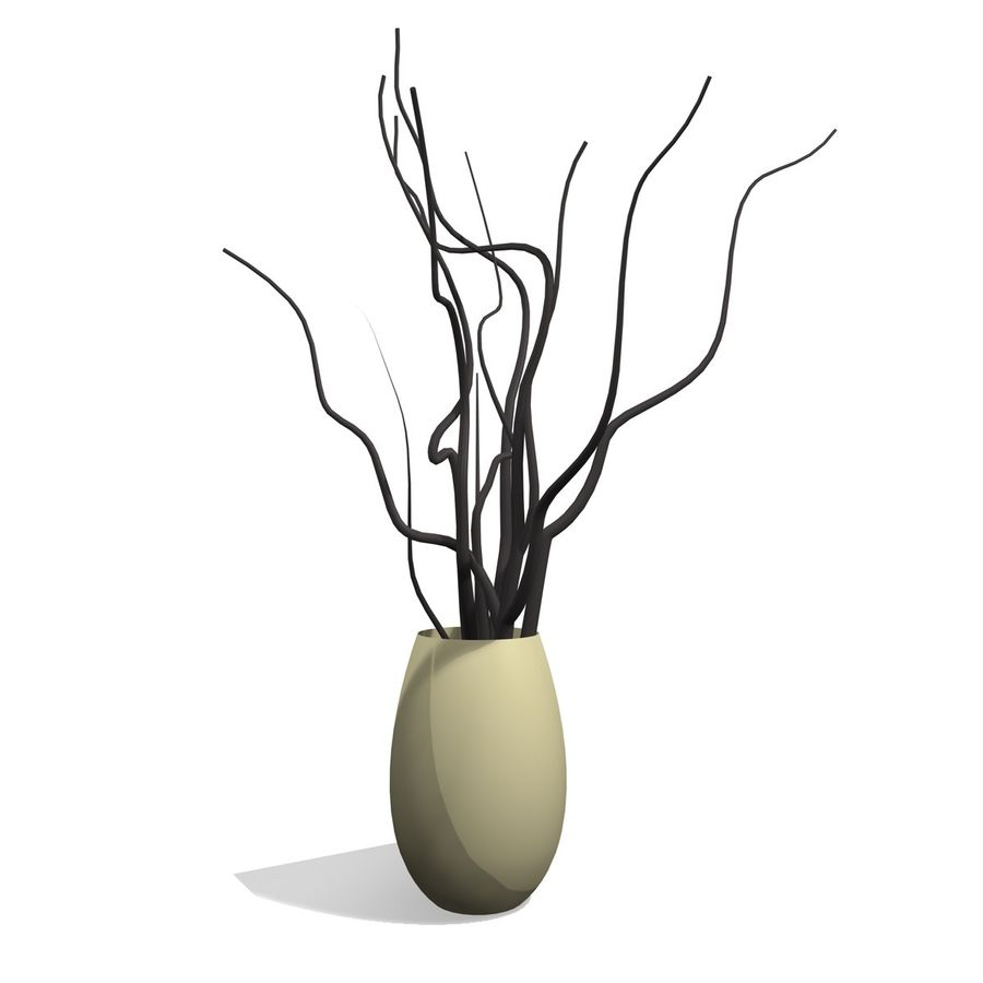 Indoor Plant 1 royalty-free 3d model - Preview no. 1