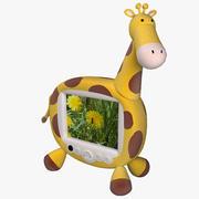 TV Giraffe 3d model