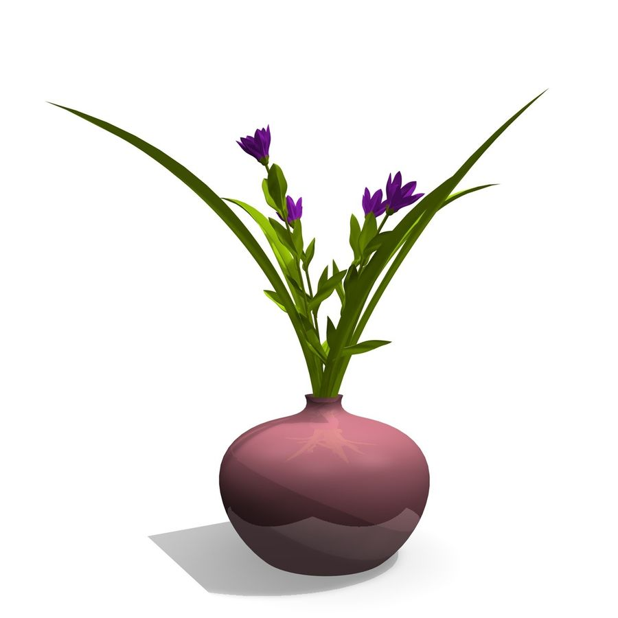 Indoor Plant 3 royalty-free 3d model - Preview no. 1