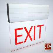 Exit Sign 3d model