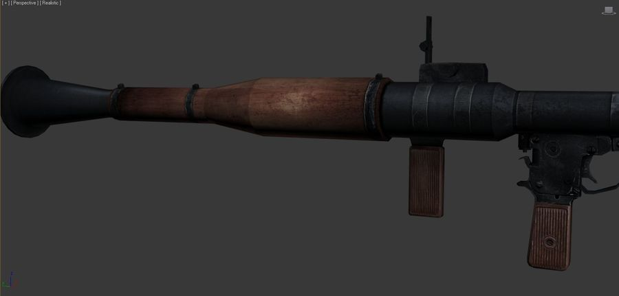 OPFOR RPG 7 royalty-free 3d model - Preview no. 8