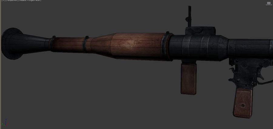 OPFOR RPG 7 royalty-free 3d model - Preview no. 9
