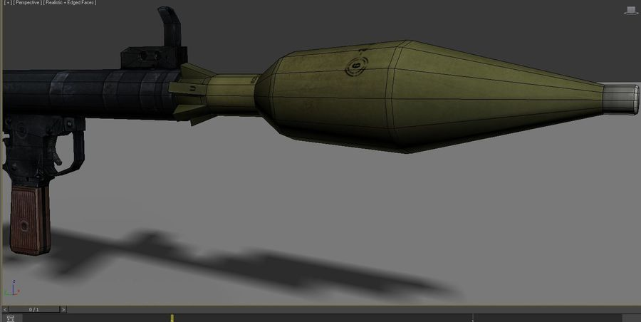 OPFOR  RPG 7 royalty-free 3d model - Preview no. 3