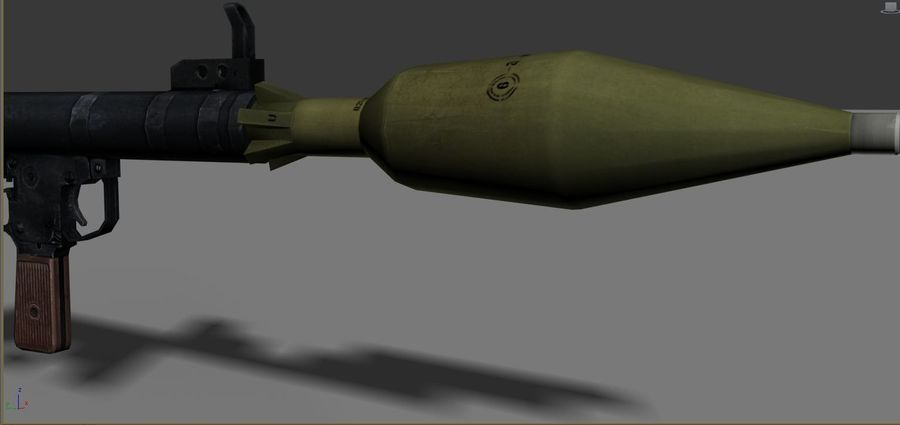 OPFOR  RPG 7 royalty-free 3d model - Preview no. 2