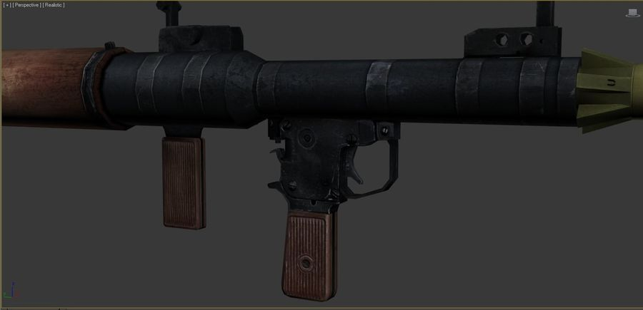 OPFOR  RPG 7 royalty-free 3d model - Preview no. 5