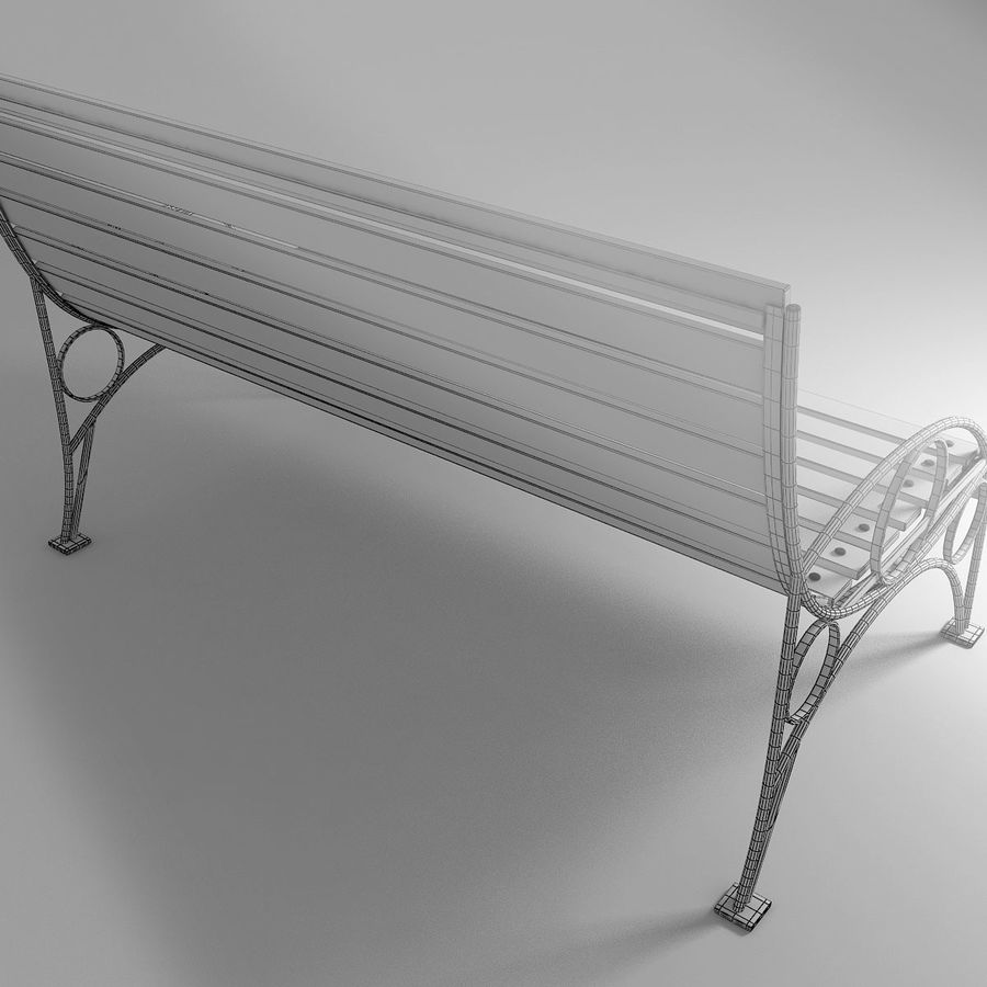 Bank royalty-free 3d model - Preview no. 5