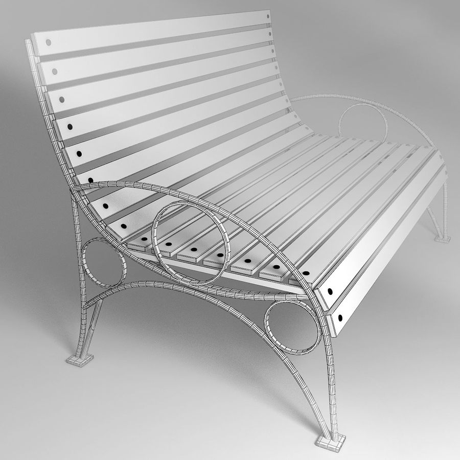 Bank royalty-free 3d model - Preview no. 1