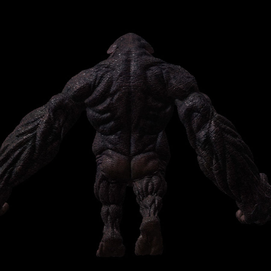 Monster / varelse royalty-free 3d model - Preview no. 4