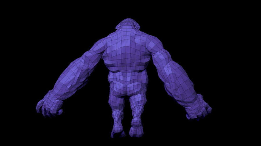 Monster/Creature royalty-free 3d model - Preview no. 12