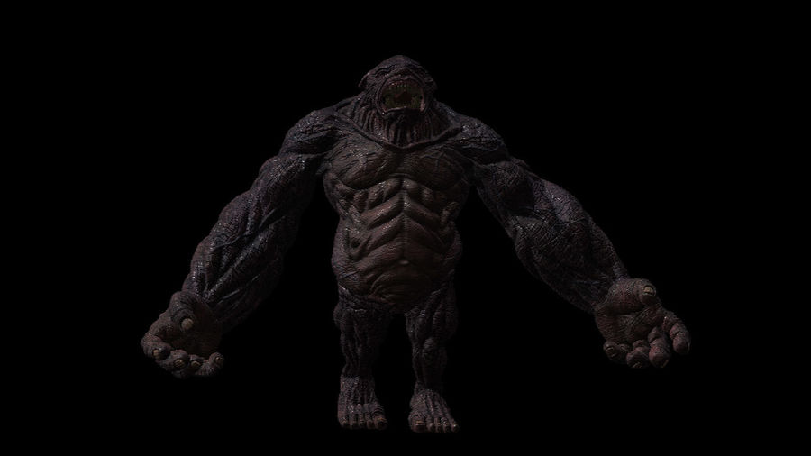 Monster/Creature royalty-free 3d model - Preview no. 1