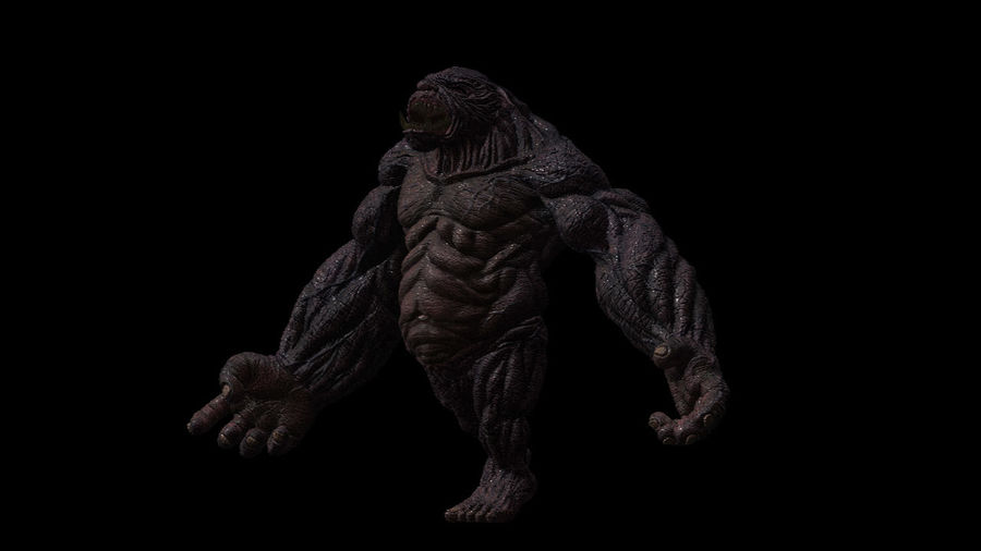 Monster/Creature royalty-free 3d model - Preview no. 2