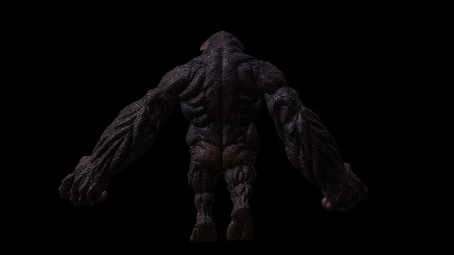 Monster/Creature royalty-free 3d model - Preview no. 3