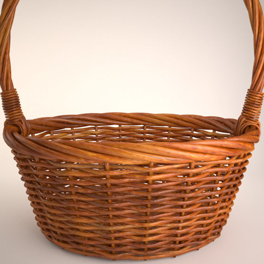 Basket 2 royalty-free 3d model - Preview no. 2