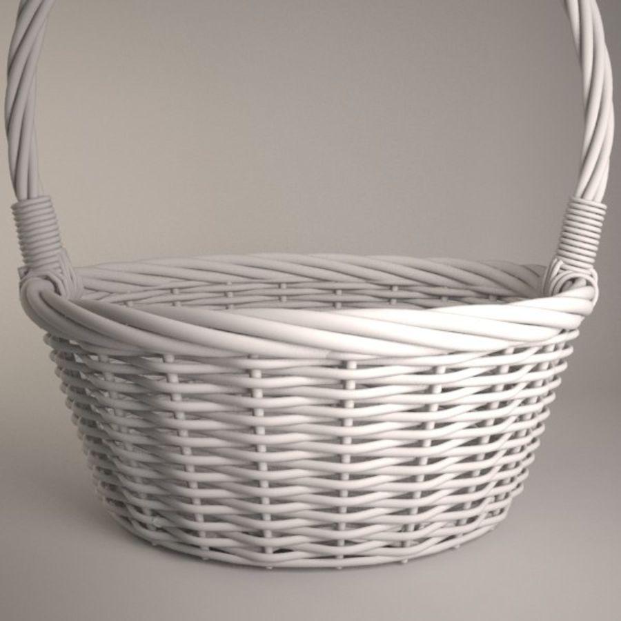 Basket 2 royalty-free 3d model - Preview no. 4