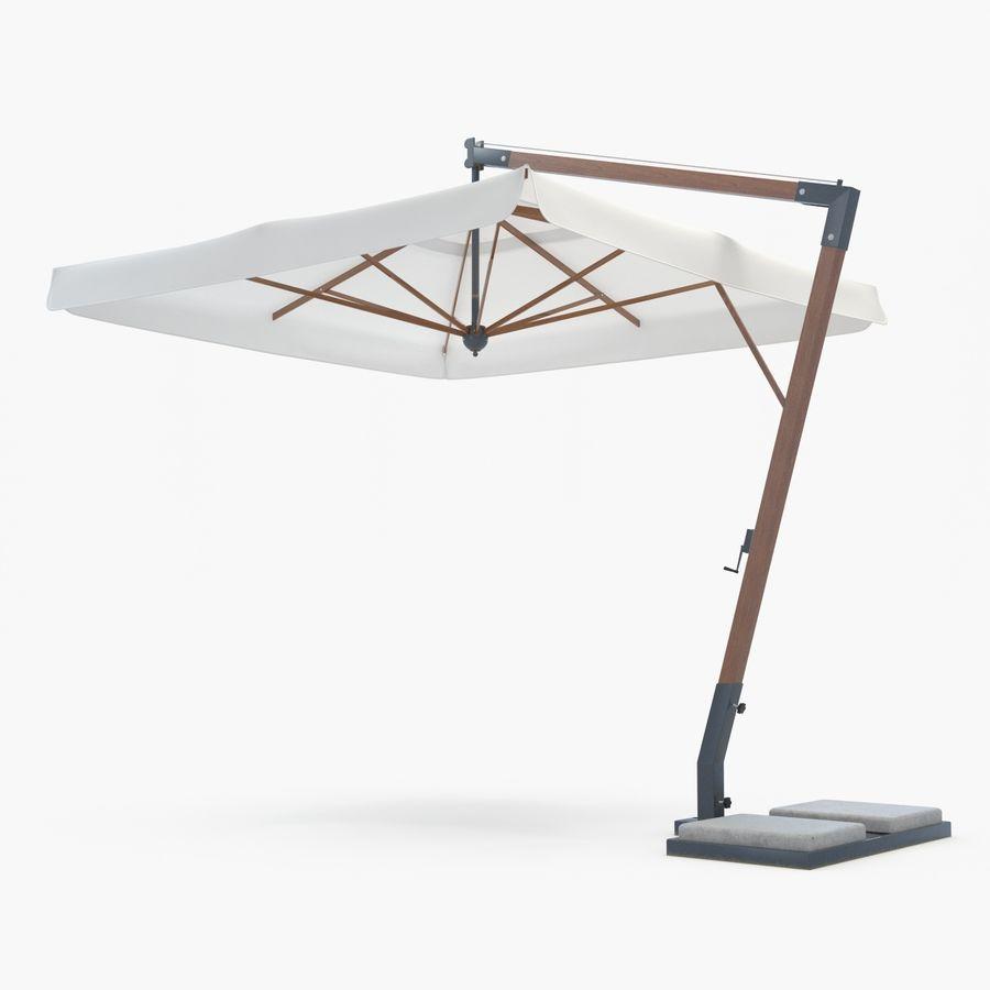 Bezpłatny stojący ogród Sunbrella royalty-free 3d model - Preview no. 1