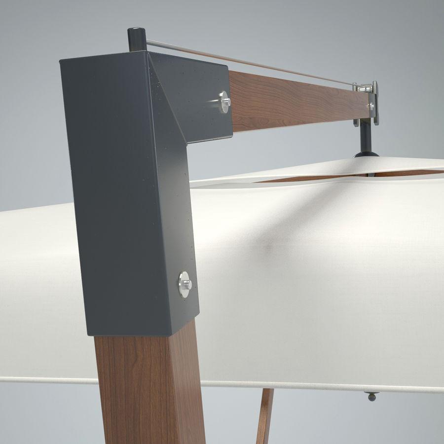 Bezpłatny stojący ogród Sunbrella royalty-free 3d model - Preview no. 5