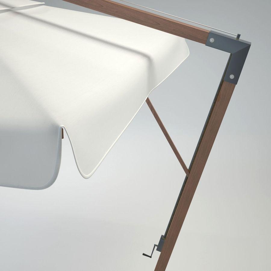 Bezpłatny stojący ogród Sunbrella royalty-free 3d model - Preview no. 7