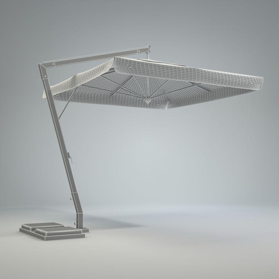Bezpłatny stojący ogród Sunbrella royalty-free 3d model - Preview no. 9