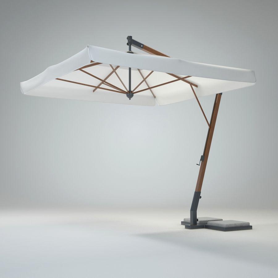 Bezpłatny stojący ogród Sunbrella royalty-free 3d model - Preview no. 2