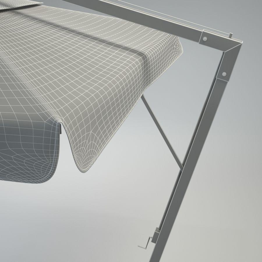 Bezpłatny stojący ogród Sunbrella royalty-free 3d model - Preview no. 13