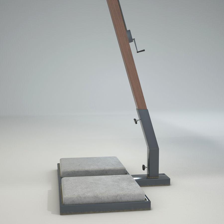 Bezpłatny stojący ogród Sunbrella royalty-free 3d model - Preview no. 4