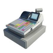 Cash Register - Till 3d model
