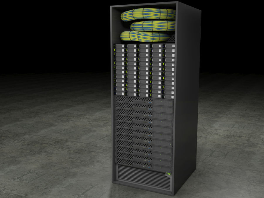 Generic Server royalty-free 3d model - Preview no. 1