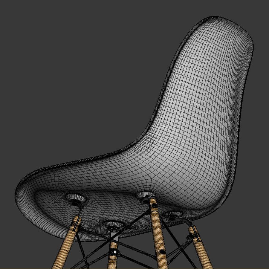 Krzesło i stół DSW royalty-free 3d model - Preview no. 7