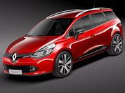 Renault Clio Estate 2013 3d model
