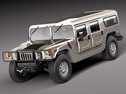 Hummer H1 Wagon 1992 – 2006 civil 3d model