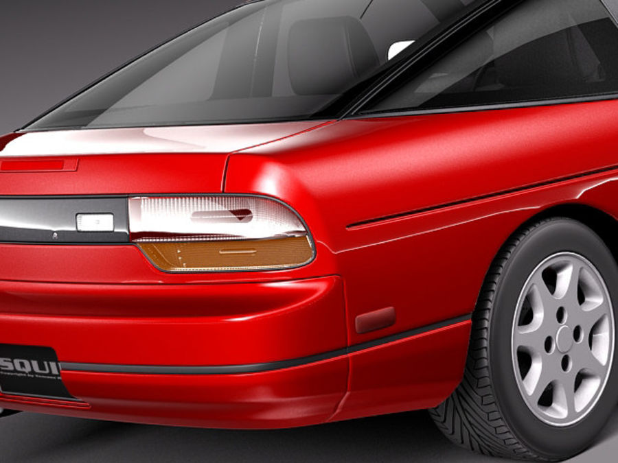 Nissan 240SX silvia S13 1989–1994 royalty-free 3d model - Preview no. 4