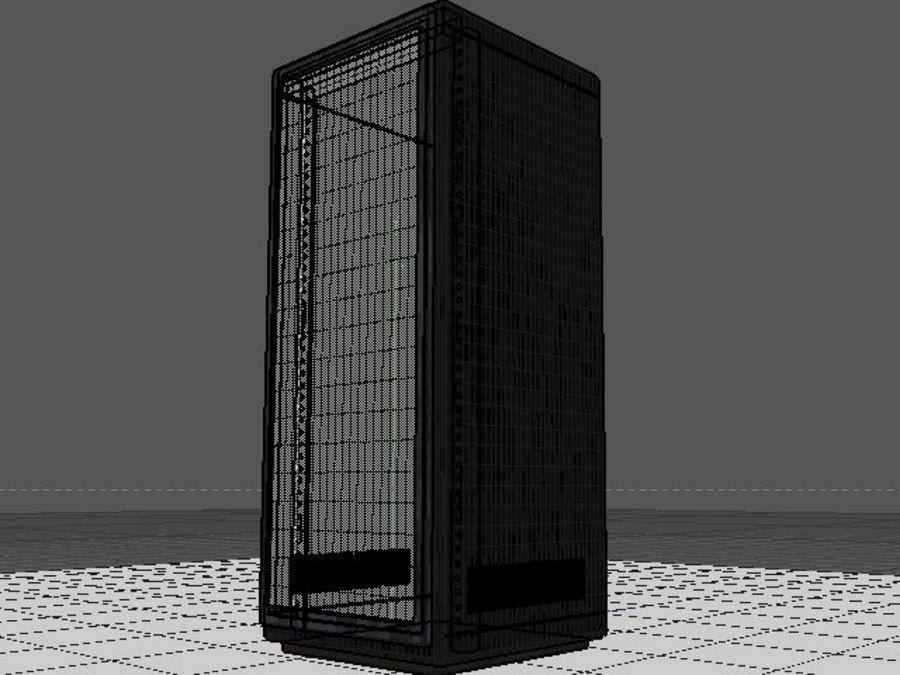 Rack-Server royalty-free 3d model - Preview no. 6