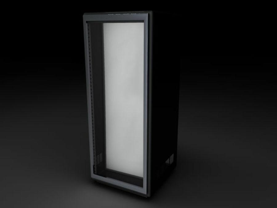 Rack-Server royalty-free 3d model - Preview no. 3