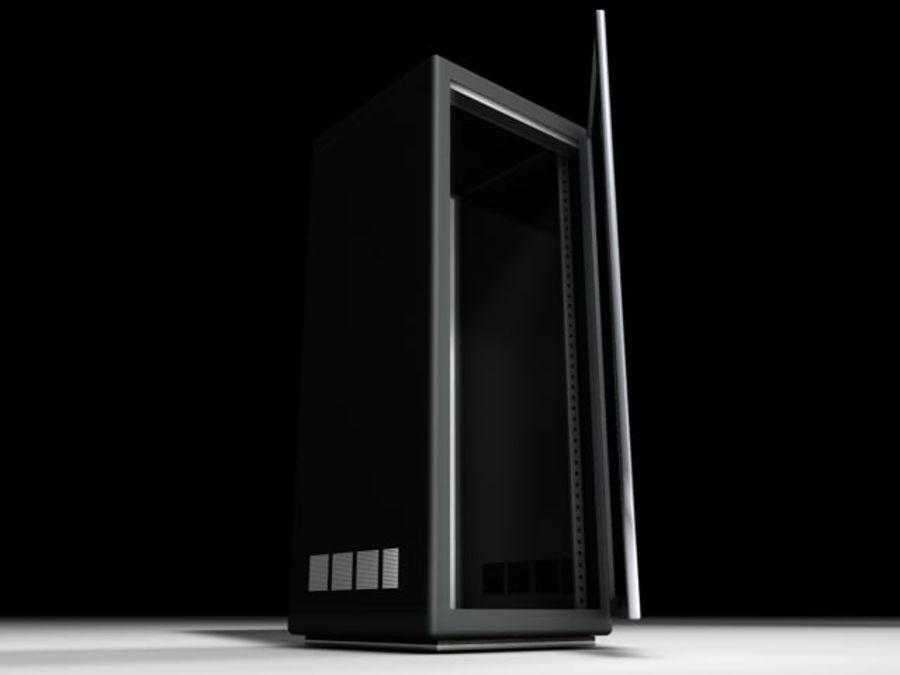 Rack-Server royalty-free 3d model - Preview no. 1