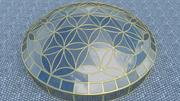 Flower of Life dome 3d model