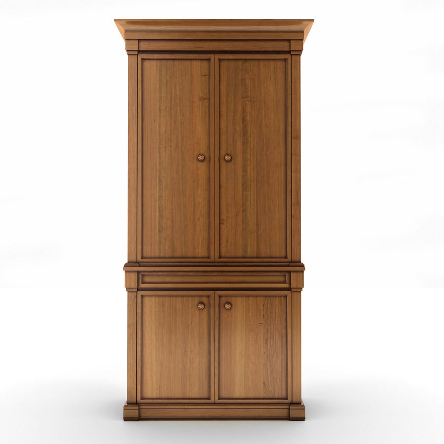 클래식 한 armoire royalty-free 3d model - Preview no. 5