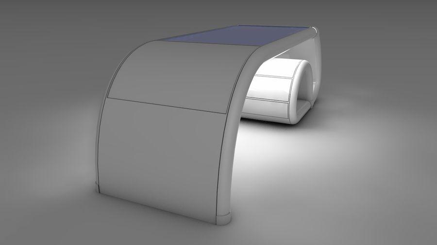 Mesa de ordenador royalty-free modelo 3d - Preview no. 7