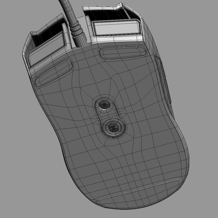 Mice Razer Taipan royalty-free 3d model - Preview no. 13