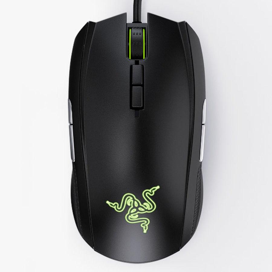 Mice Razer Taipan royalty-free 3d model - Preview no. 1