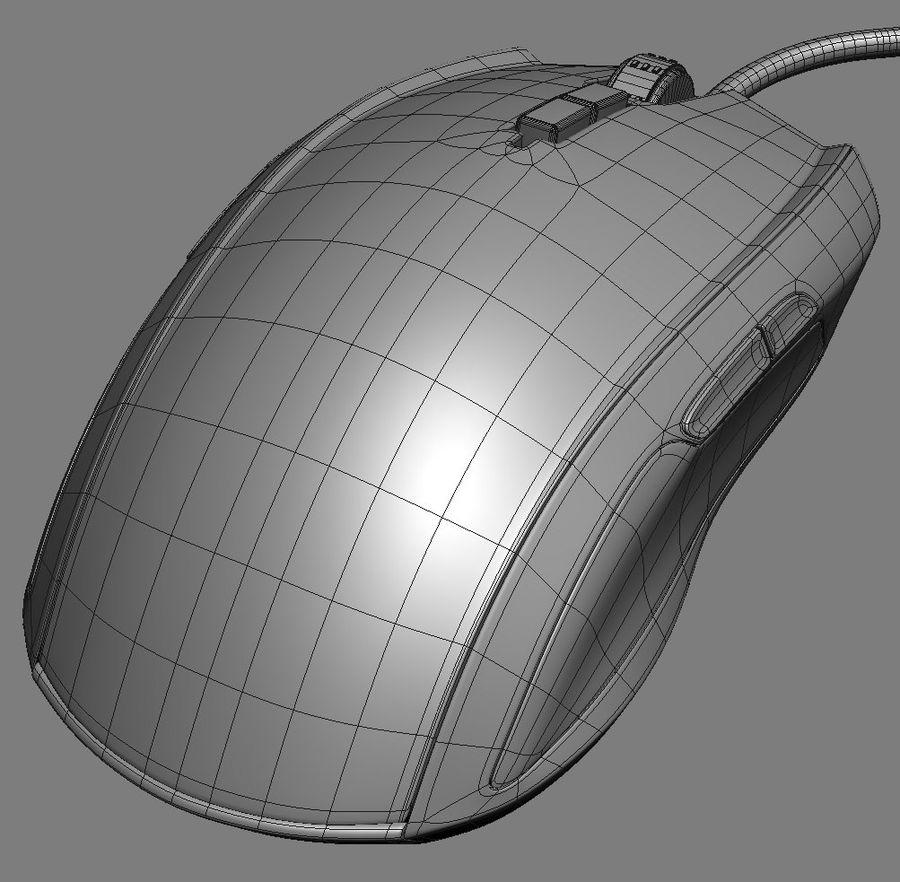Mice Razer Taipan royalty-free 3d model - Preview no. 11