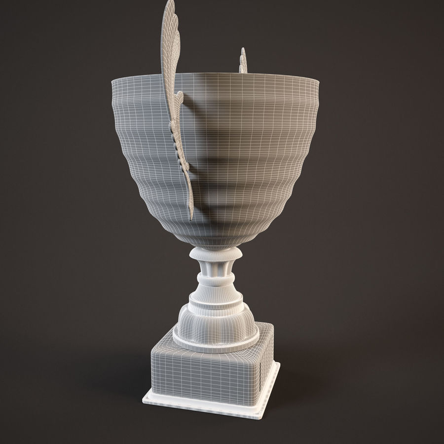 Goblet royalty-free 3d model - Preview no. 7