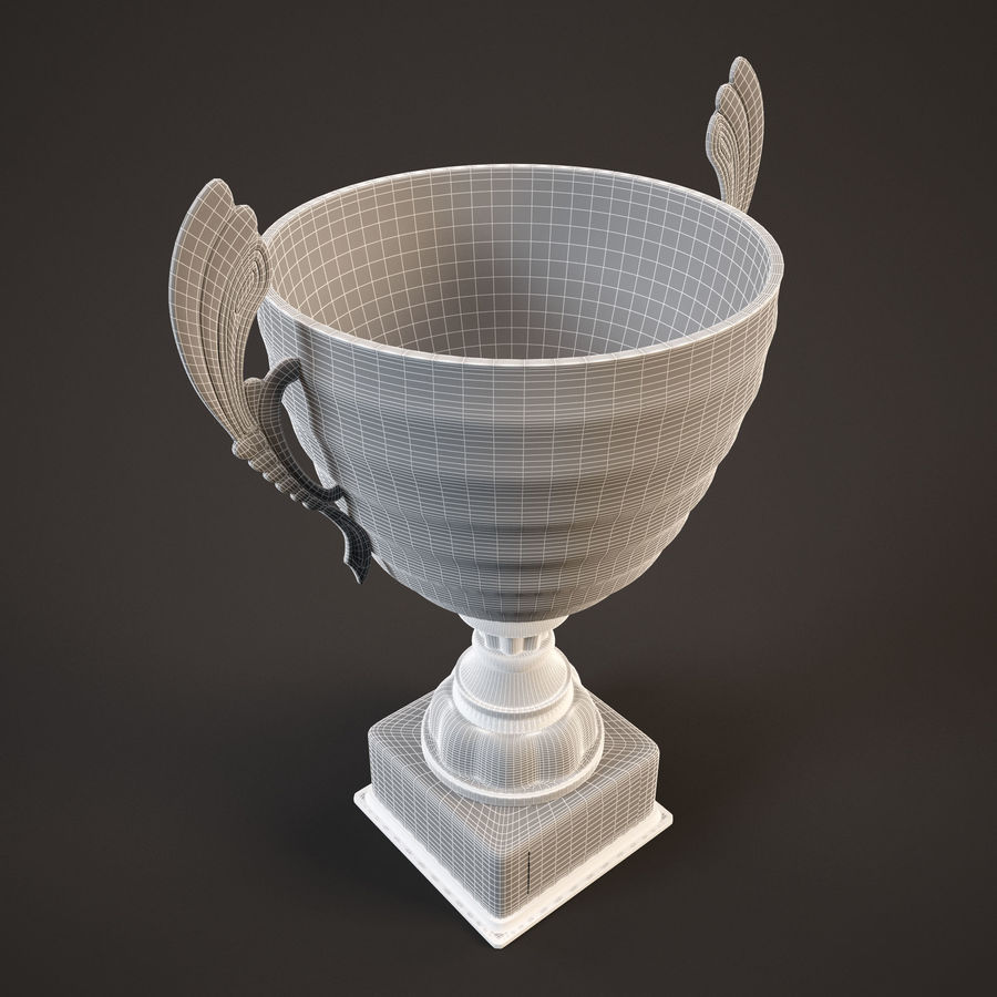 Goblet royalty-free 3d model - Preview no. 9