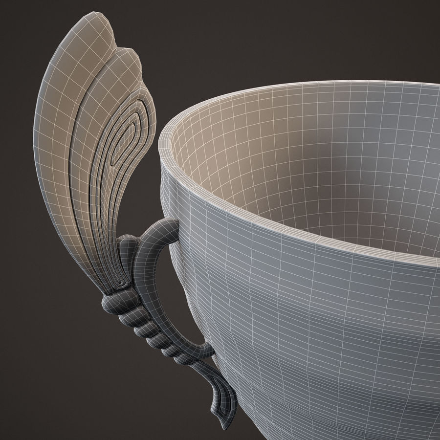 Goblet royalty-free 3d model - Preview no. 11