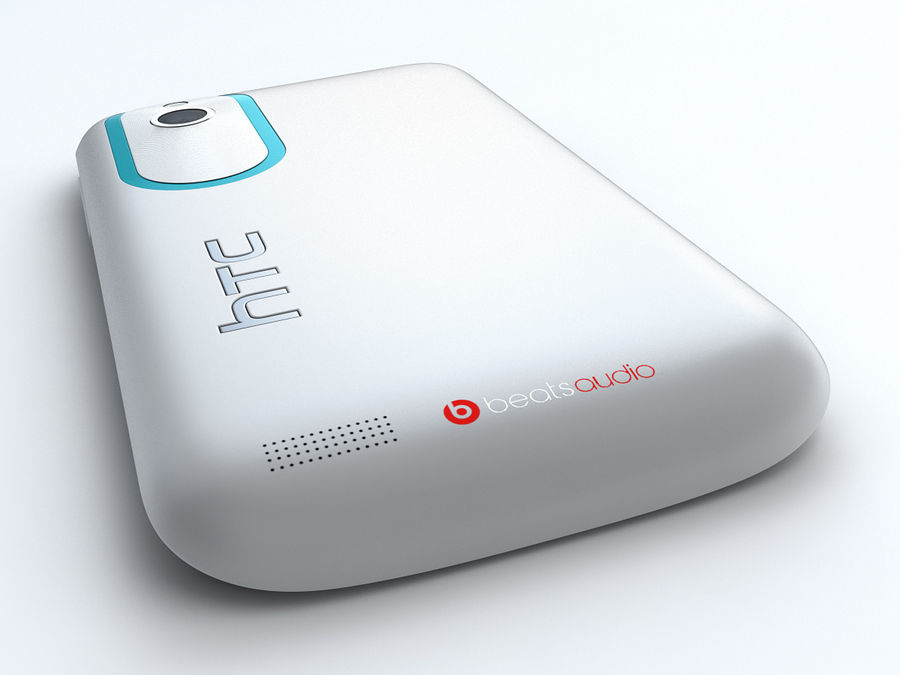 HTC Desire X royalty-free 3d model - Preview no. 12