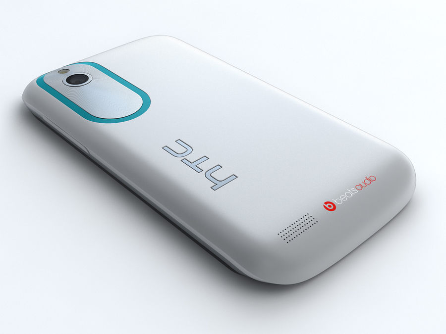 HTC Desire X royalty-free 3d model - Preview no. 6