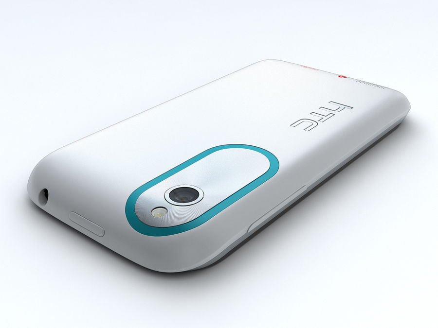 HTC Desire X royalty-free 3d model - Preview no. 8