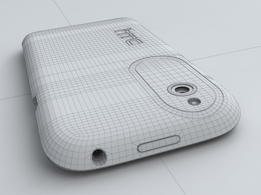 HTC Desire X royalty-free 3d model - Preview no. 27