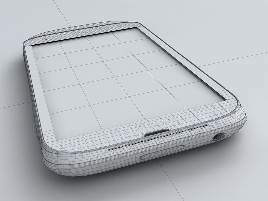 HTC Desire X royalty-free 3d model - Preview no. 26