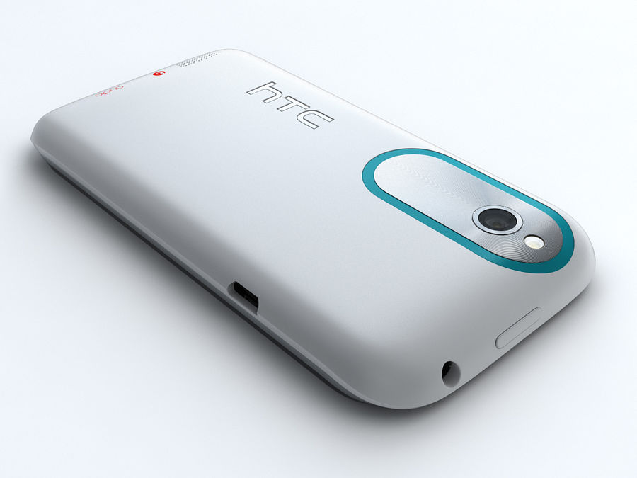 HTC Desire X royalty-free 3d model - Preview no. 5
